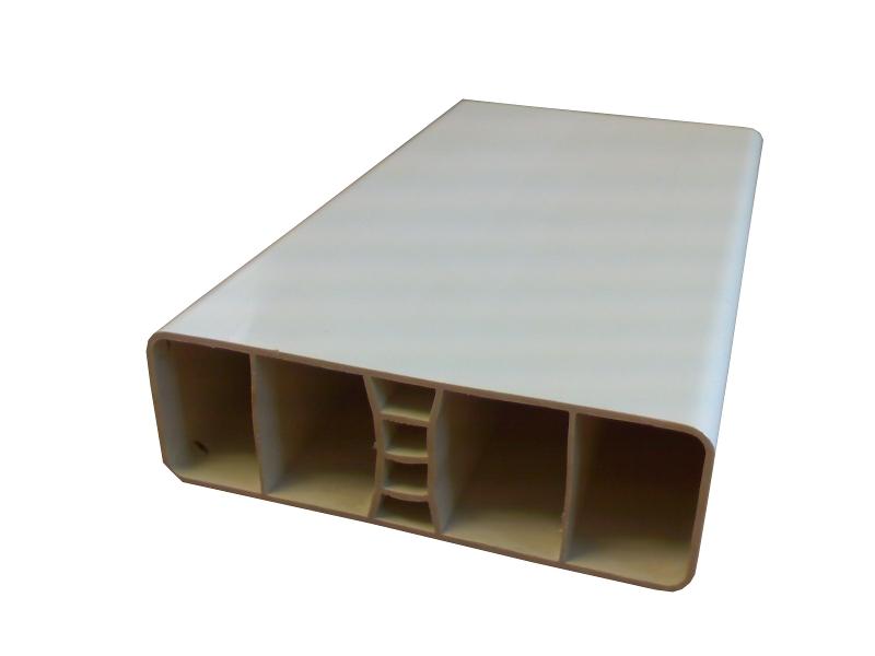 lisse co08 80x26x1 2 blanc. Black Bedroom Furniture Sets. Home Design Ideas