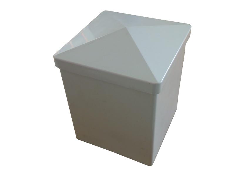 poteau p120 120x120x2 8 blanc. Black Bedroom Furniture Sets. Home Design Ideas